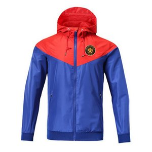Carrick Rangers rüzgarlık fermuar ceket Kapşonlu futbol WINDBREAKER Futbol ceket Spor Lille tam fermuarlı ceket Erkekler Jack