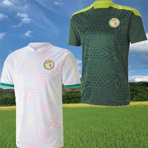 (20) (21) 세네갈 축구 유니폼 2020 2021 세네갈 홈 원정 Balde KOULIBALY 갈기 축구 팀 유니폼 축구 셔츠 S-XXL