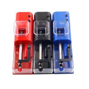 담배 압연 기계 자동 전기 충전 롤러 담배 메이커 미니 충전식 USB 충전기 3 색으로 만드는 기계 흡연