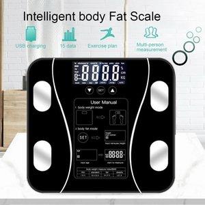 Body Fat Напольные весы Scientific интеллектуальный электронный светодиодный цифровой Вес ванной Баланс Bluetooth APP Android или IOS Scale до 4.0