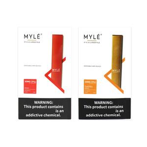 Myle Bar Disposable Device Pod Kit 280mAh Battery 300 Puffs 1.2ml Pre-Filled Vape Empty Pen Puff Bar Plus Puff Flow Bang XXL