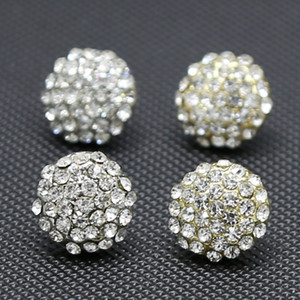 13mm Semicircle Exaggerated Hip Hop Stud Earrings Hip Hop Bling round Earring