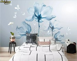 beibehang Custom wallpaper 3D mural 3d stereo flower wall simple European style wall papers home decor papel de parede mural