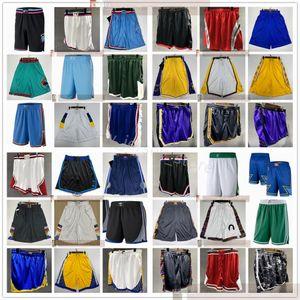 Qualité supérieure ! Courts de poche de basketball imprimé Homme Sport Shorts Collège Pantalons de poche Blanc Noir Jaune Violet Violet Bleu Sport Shorts XS-XXL