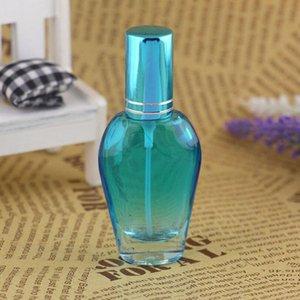 Оптовая 12 ML стекло Портативный спрей бутылки с алюминиевым Распылитель Refillable Atomizer Духи Упаковка Tube