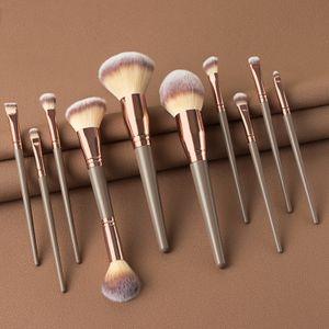 Makeup Brushes Set For Foundation Powder Blush Eyeshadow Concealer Lip Eye Make Up Brush Cosmetics BeautyCosmetic Tool Beauty Brushes