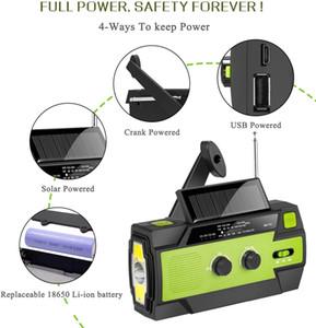 Guangzhou Juropin For Emergency Mini USB Hand Crank Solar AM FM Portable Radio Outdoor Camping 2020 Newest