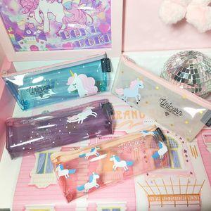 Arsmundi Pencil Case School Office Supplies Kawaii Stationery Estuches Chancery School Cute Pencil Box Pen Bags Penalty GWA1672
