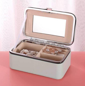 Earrings Multi-functional Storage Boxes Necklace Jewelry Box Display Storage Case Travel Portable Box Organize Holder Gift Boxes WMQ392