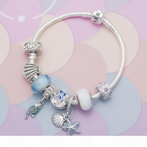 New Fashion Charm Bracelet Heart Beads Peandant fit for bangle Mother's day gift DIY Aceessories Wedding Jewelry