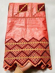 bazin brode 겟츠 tissu dentelle 아프리카 레이스 bazin 부자 직물 자카드 브로케이드 패브릭 유역 부자 바느질 재료 5야드