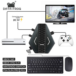 Data Frog PUBG Mobile Wired Gaming Keyboard Mouse Converter For PS4 Xbox one 360 Nintendo Switch PS3 Console Android Systerm
