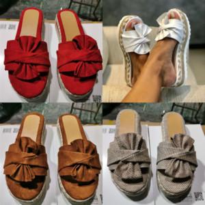 8IRV CUT-OUT Rattan Slipper S Hombre Mujeres SZ Fashion Flats Slaps Sandals Sandals Zapatillas con diseño de goma moldeada con diseño de otoño