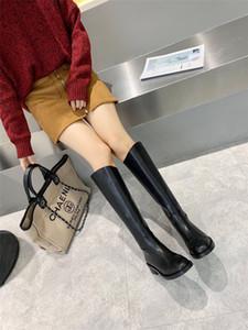 2020 Deri Lady Kadınlar Çizme Topuklar Gladyatör Bilek Martin Boots Ayakkabı Fermuar Kış Yeni Sıcak Kadın Kısa Patik Kuyu moda için