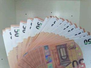 Yeni Ürün Simülasyonu 50 Euro Banknot Oyuncak Çocuk Oyunları Banknotlar Paraları Ödül Paraları Anaokulu Erken Eğitim