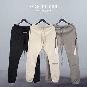 Горячий туман страх перед Богом брюки Основные характеристики 3M размышления брюки хлопок флис зимняя спортивная одежда спортивные трексуиты фитнес мужские брюки повседневные твердые