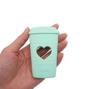 Tasse à café en silicone Teether Jouets bébé Soins infirmiers Teething Tétines BPA pour nourrisson Croquer silicone Tétine Accessoires