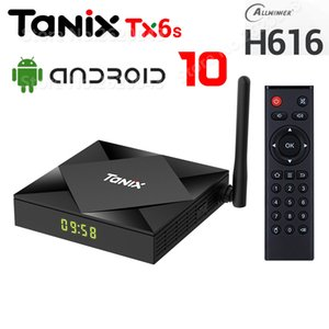 TX6S Android 10 Smart TV Box Allwinner H616 Quad Core 4G RAM 32G ROM 2.4G 5G Dual Wifi Bluetooth 4K TV Box