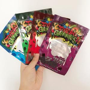 Embalaje Embalaje 500mg Dank Gummies Bolsos Gusanos EDIBLES Osos Cubos Bolsas Gummanas al Por Mayor de Factory 2020 54453