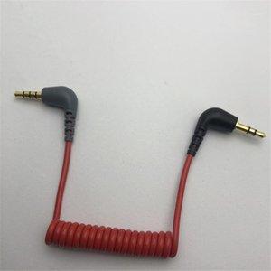 Para TRS a TRRS Adaptador Conecte Línea de alambre de Cable MIC para RODE SC7 VideoMic Go Videomicro Grabación ON1