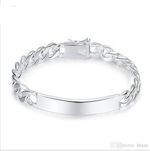 Outra vendas de prata pulseira homens fabricantes de jóias fornecem comércio internacional uma geração de gordura