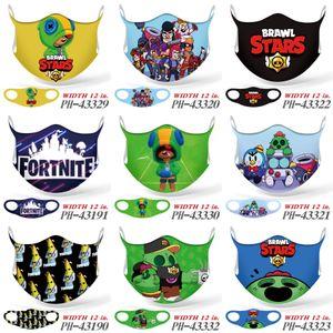 3Masks Katmanlar Yüz Kapak Kayak Maskeleri Seti Toz Ağız Fortress Gece Maske Tasarımcı G 1PCS Yüz Fortress Gece disgner # 113 Maskesi