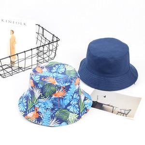Tuval çift taraflı giymek erkekler ve kadın trend sanat fan retro gölge balıkçı erkek şapka seyahat eğlence erkek tasarımcılar bere şapkalar wi