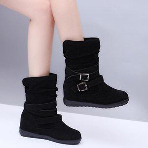2020 women winter fashion flats casual shoes Botas planas de moda para mujer Fashion new classic boots for women H12-10