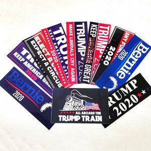 Donald Trump 2020 Car Sticker America President Election Sticker Fashion Exquisite Stickers Home Garden Waterproof Stickers HWE2618