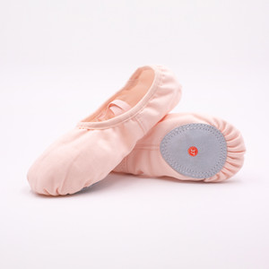 Women's soft-soled dance shoes elastic tight mouth pink ballet training shoes Children's dance shoes
