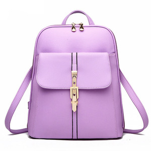 New Fashion New Backpack Youth For Backpacks Women Bag Girls Teenage Leather A Female Vintage Bagpack Mochila Sac School Dos Logsr