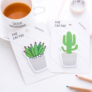 Cactus Memo Pad Sticky Note Sticker Memo Book Note Papier N Stickers Papeterie Accessoires Accessoires School Fournitures scolaires