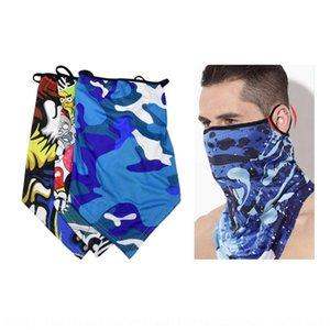 3D Термальный цифровой печати Сублимация Спорт Полотенце Triangle 2wDyL Полотенце персонализированный Открытый спорт Цвет маски Открытый треугольник шарф Kauv