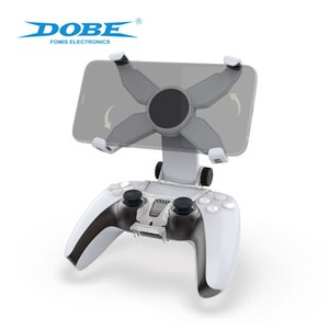 2020 New Dobe Electronic Products Ps5 Wireless Blue-Tooth Game Handle Bracket Rotatable Mobile Phone Bracket