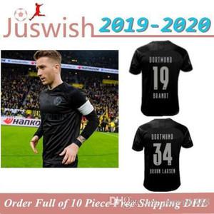 Thai top 19 20 Borussia dortmund 110th Anniversary Soccer Jersey 2019 2020 Football Shirt SANCHO REUS HUMMELS BRANDT PACO DELANEY Maillot