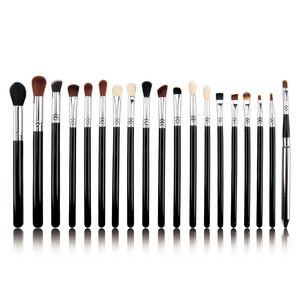 Makeup Brusher Set 19Pcs Cosmetic Powder Foundation Concealer Eye Shadow Blusher Blending Highlighter Bronzer Sculpting Tools