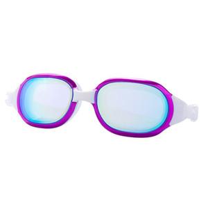 Swimming Goggles Glasses Unisex Plating Waterproof Swimming Glasses Uv Protection Diving Eyewear Swimming Goggles Sqcfzr Hjfeeling