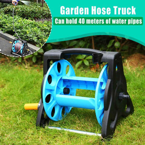 Water Pipe Truck Water Pipe Rack Garden Portable Hose Reel Storage Car Washer Rack