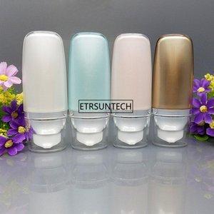 50 unids 30 ml 50 ml botella sin aire cosmética leve la crema de lavado de la crema de embalaje vacío BB SunCream Squeeze Airless Tube F2567