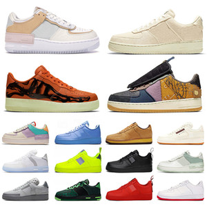Cactus Jack force 1 forces af1 Shadow airforce off white Low MCA MOMA stock x 2020 Designer Trainers Hombres Mujeres Zapatos para correr Marca lujo Zapatillas deportivas de moda