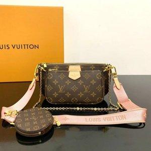 3pieces di alta qulity Designer donne borse MULTI POCHETTE ACCESSORI borsa borsa borsetta crossbody borsa moda borsa femminile hobo