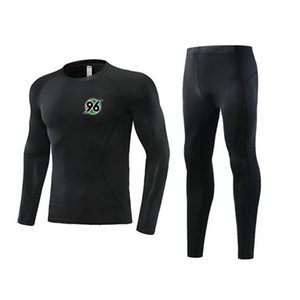 Newest Hannover 96 Soccer Tight Tracksuits Kids Outdoor Clothing Size22 Men's Athletic Sets Adult Football Warm Suit Size L