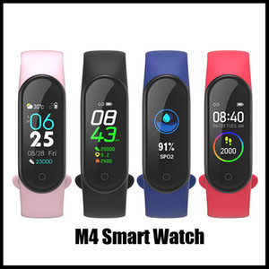 M4 Smart band 4 Real Heart Rate Blood Pressure Wristbands Sport Smartwatch Monitor Health Fitness Tracker smart Watch Wristband fitbit