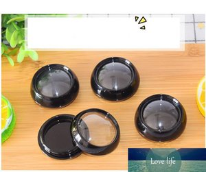3g 5g Black Plastic Mini Travel Cosmetic Jars Refillable Makeup Cream Eyeshadow Lip Balm Nail Art Sample Storage Container Bottle Pot SN1084