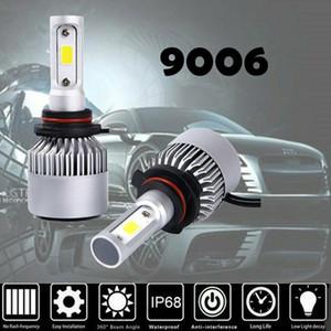 10pcs Free shipping HB4 9006 LED Headlight Lamp Light Bulbs Conversion Kit 200W 20000LM HID 6000K RV HID Xenon car Headlight