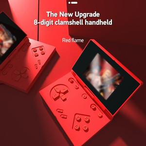 Flip 1000 Games Handheld Nostalgic Portable Mini Game Console Video Game Consoles Retro Handheld Players Accessories