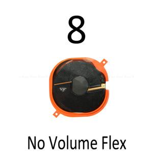 O carregamento sem fio Encargo Painel Bobina Chip NFC Flex Cable Para iPhone 8 8 Plus SE X 2020