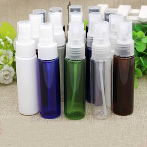 50pcs 30ml multicolor spray empty bottles for the perfumes,30cc PET clear bottle with sprayer pump ,Fine mist