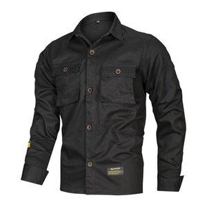 Мужские повседневные рубашки Высококачественная искусственная рубашка осень мода с длинными рукавами чистый хлопок подходит тонкий трендовой рубашку
