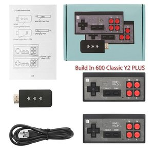 USB Mini TV Games Console Build In 600 Classic Y2 PLUS USB GAME CONSOLE Support AV HDMI Output